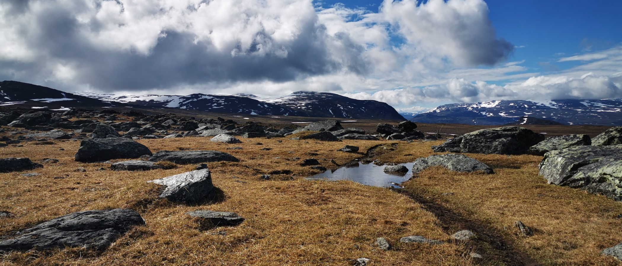 Kungsleden, Königspfad, Lappland, Start 150 Km nördlich des Polarkreises. 1. bis 7. Tag